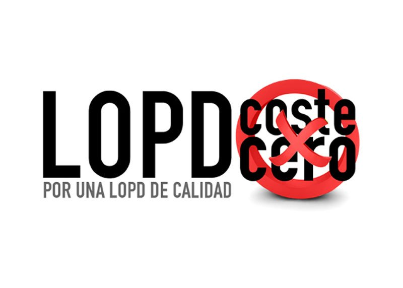LOPD Coste 0